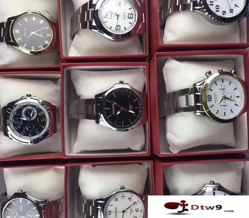 地摊热卖皮带手表批发,厂家直批地摊货源皮带手表