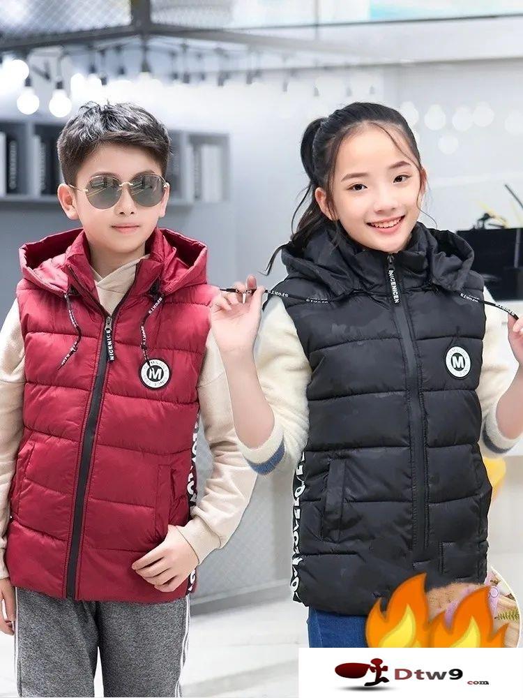 摆地摊卖冬款童装,儿童保暖套装货源批发