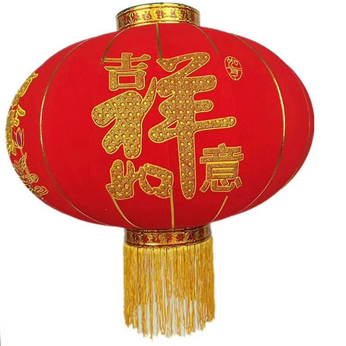 植绒大红灯笼批发,过年就卖植绒大红灯笼-义乌地摊网