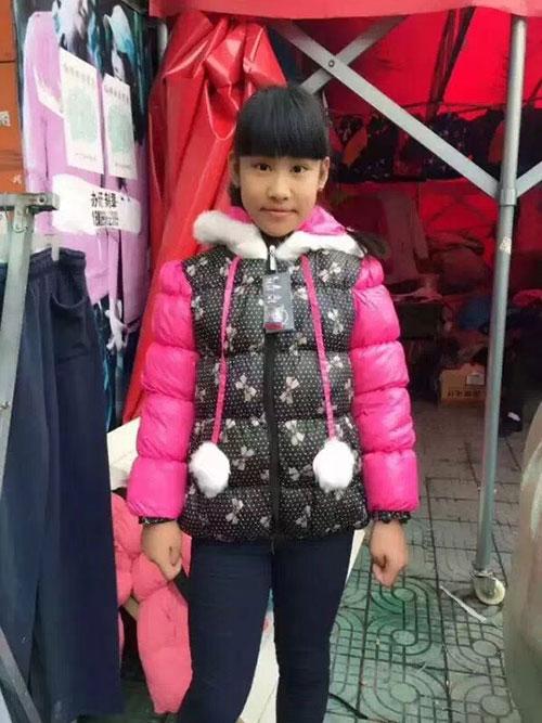 儿童羽绒棉女童袄,羽绒棉女童外套批发