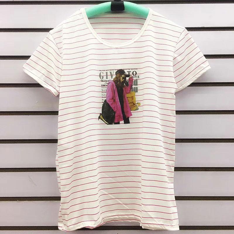 摆地摊10元模式女士T恤,全场10元T恤服装批发