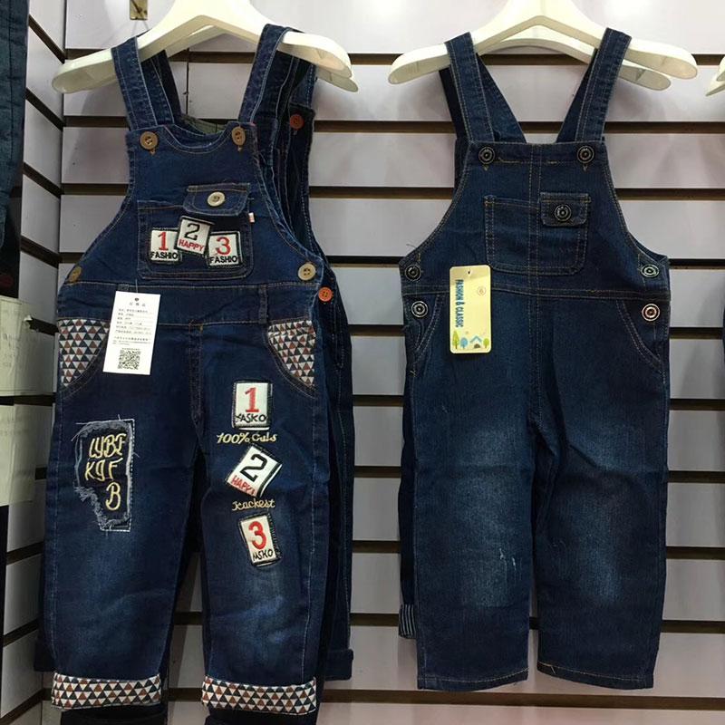 儿童背带长裤批发,春款儿童牛仔背带裤批发,义乌童装货源-义乌地摊网