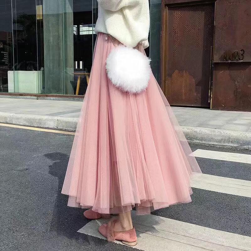 抖音同款半身仙女裙批发,微商一件代发货源