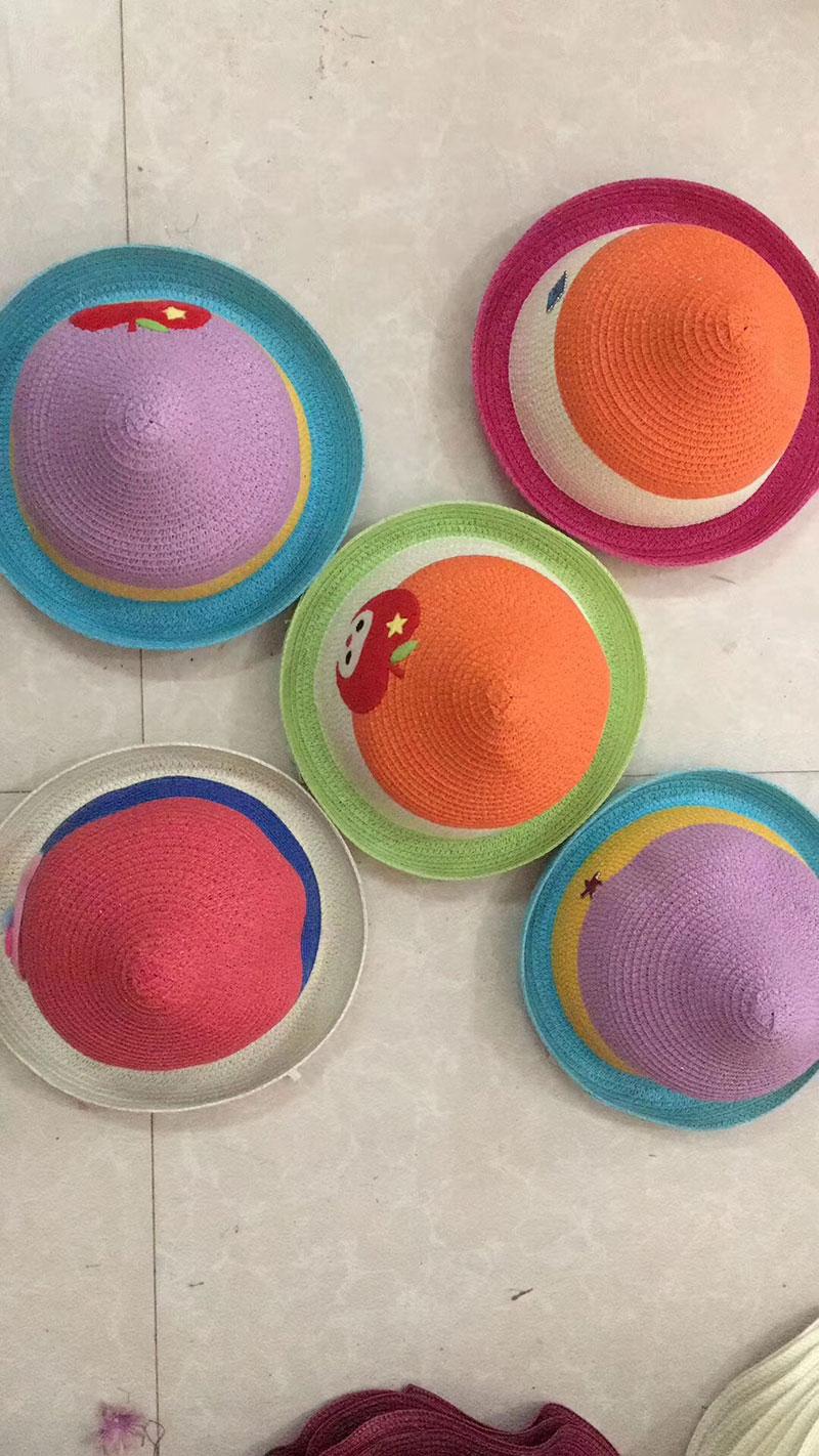 10元模式精品儿童夏凉帽,夏季摆地摊儿童沙滩防晒帽