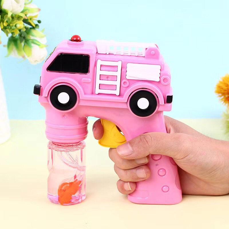 全自动消防车泡泡枪,摆地摊泡泡玩具系列-义乌地摊网