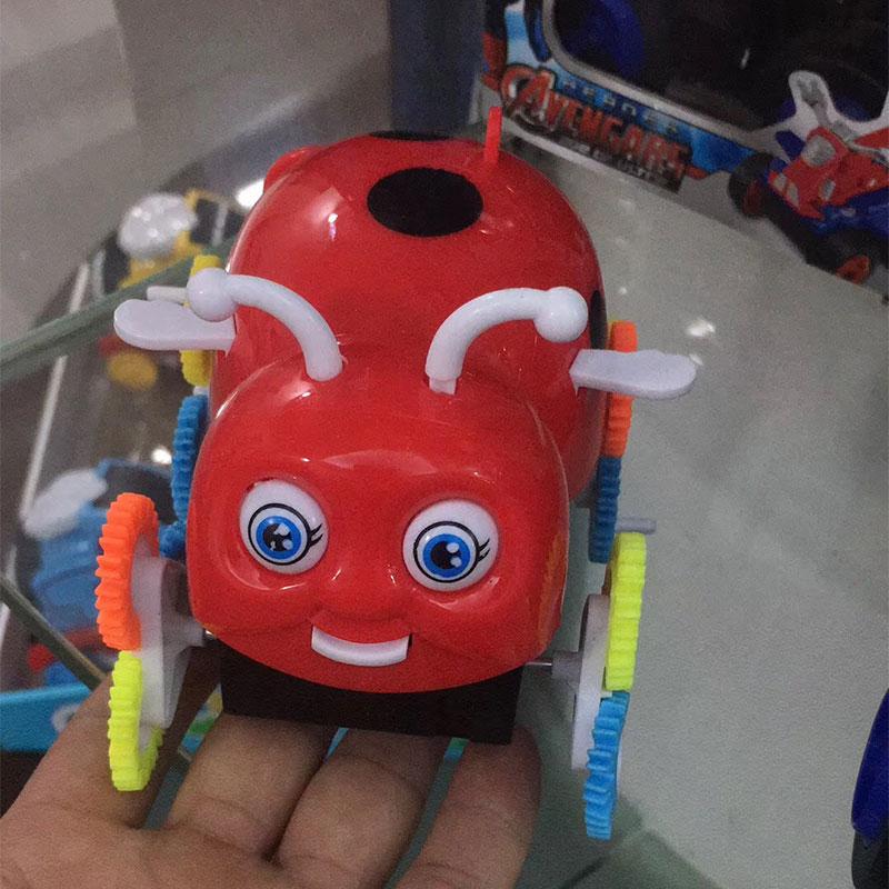 小宝贝翻斗车批发,儿童小汽车玩具货源,送广告布录音