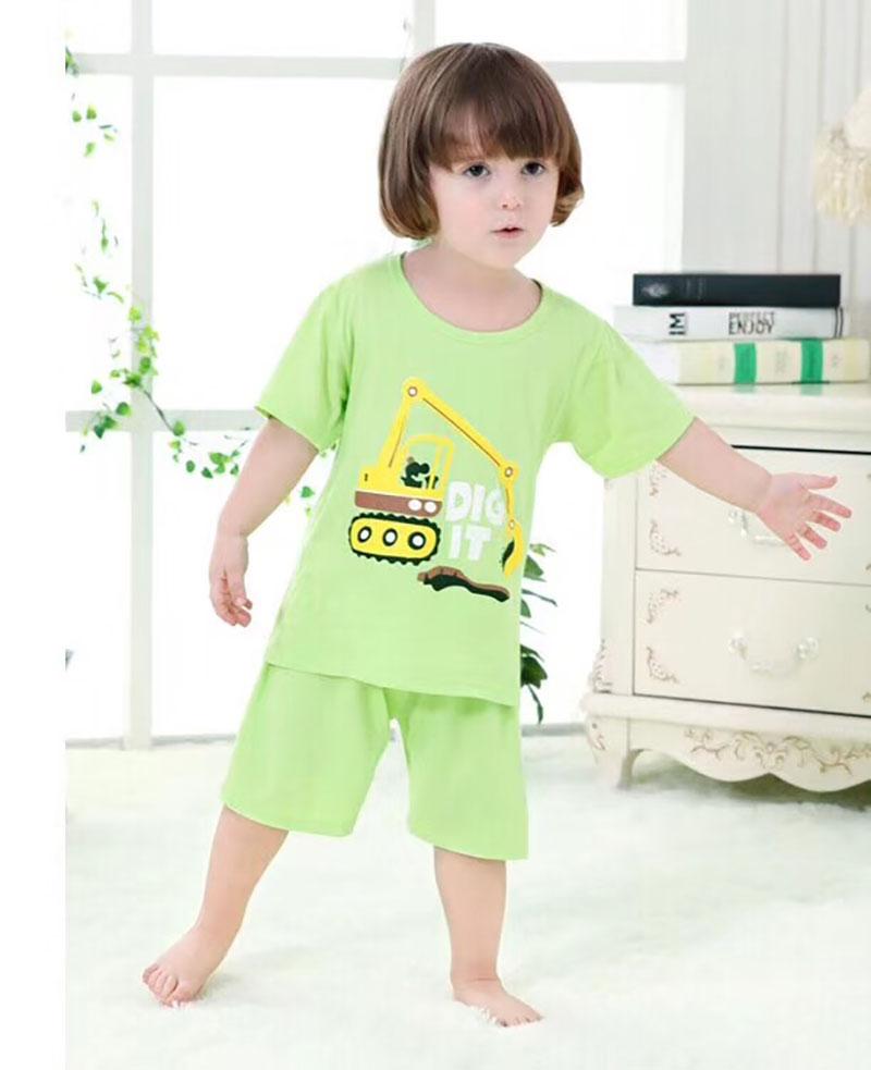 儿童北极绒品牌套装批发,夏季儿童短袖批发