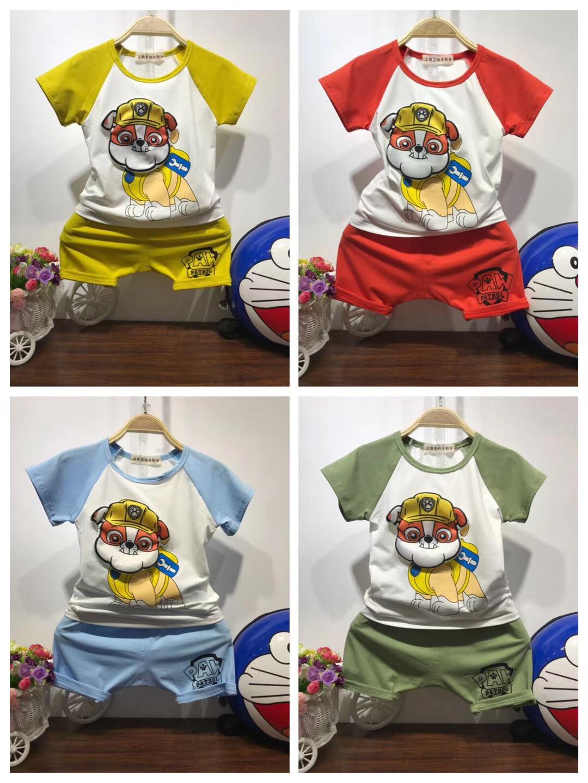 正品冰瓷棉,儿童纯棉短袖套装
