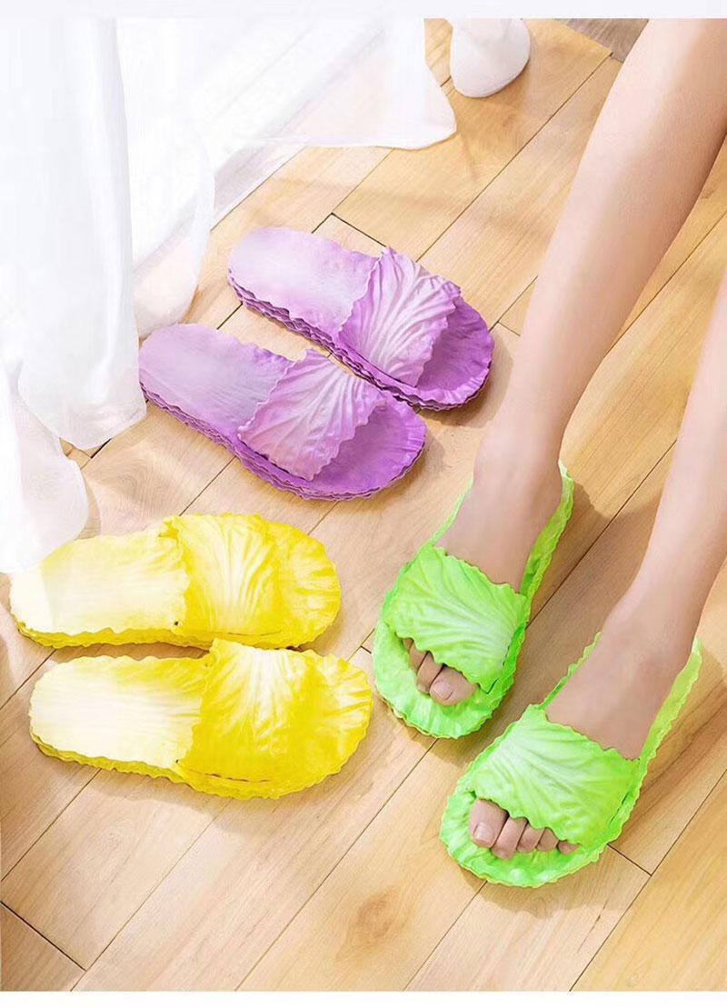 爆款白菜拖鞋女新款居家用浴室内防滑-义乌地摊网