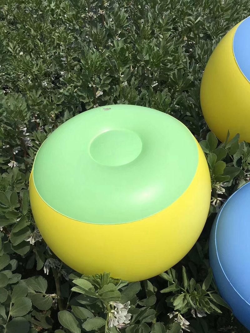 摆地摊夏季多功能彩色充气凳子货源批发