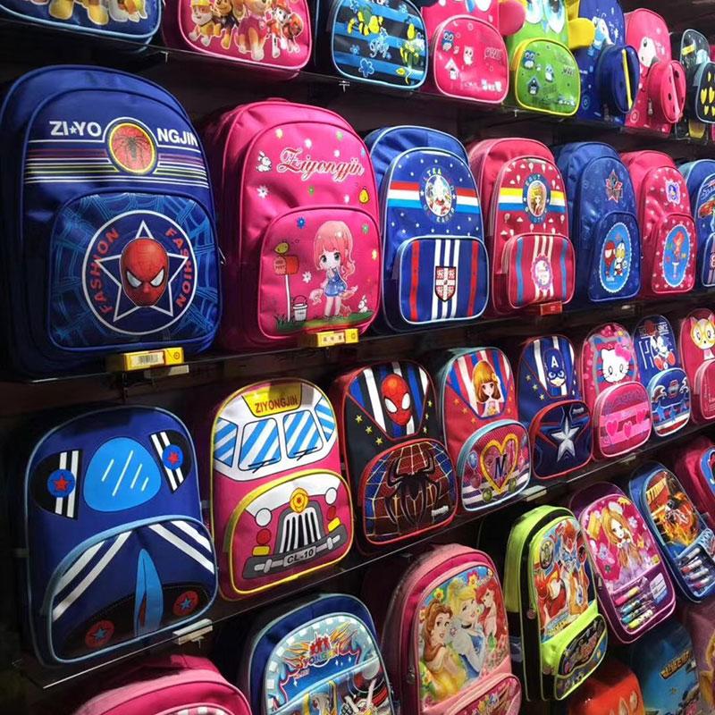摆地摊儿童书包批发,快手地摊同款书包货源,义乌书包货源批发