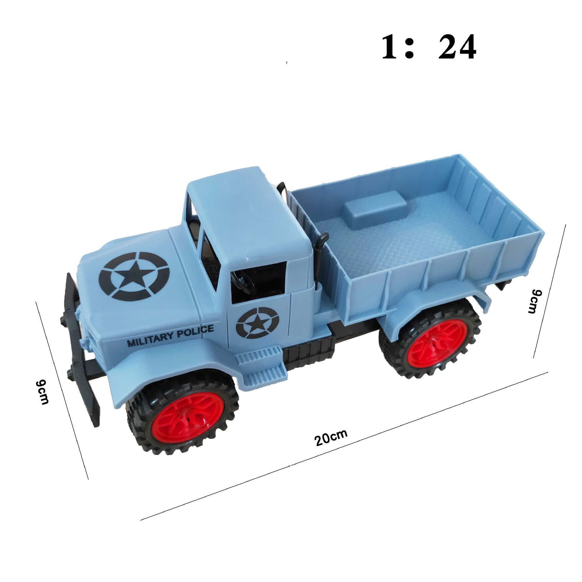 遥控军用卡车玩具礼品_适合赠送_卡车模型玩具