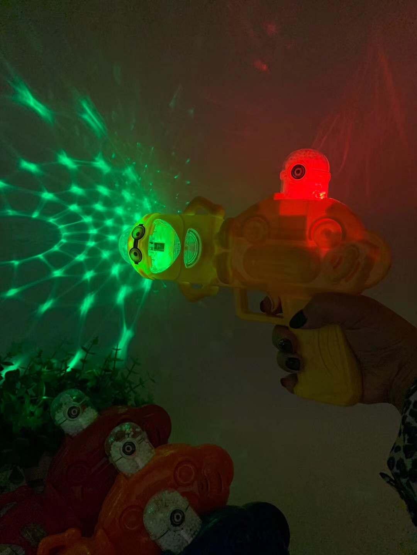 儿童小黄人星空音乐灯批发_义乌儿童玩具枪批发