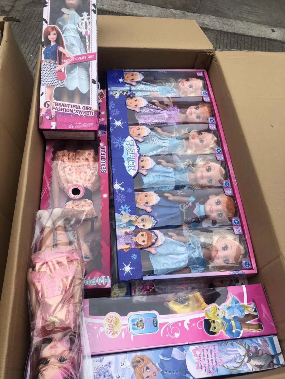 称斤芭比娃娃厂家批发,库存芭比娃娃多少钱?