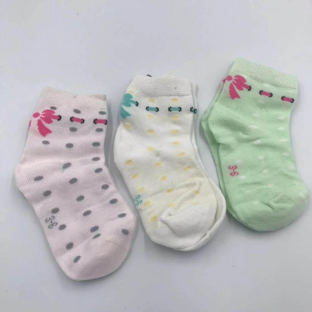 义乌库存儿童袜子批发,儿童盒装袜价格