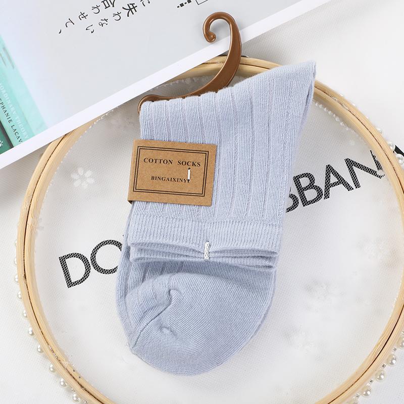 摆地摊南杂店商超专供 挂钩彩棉糖果袜