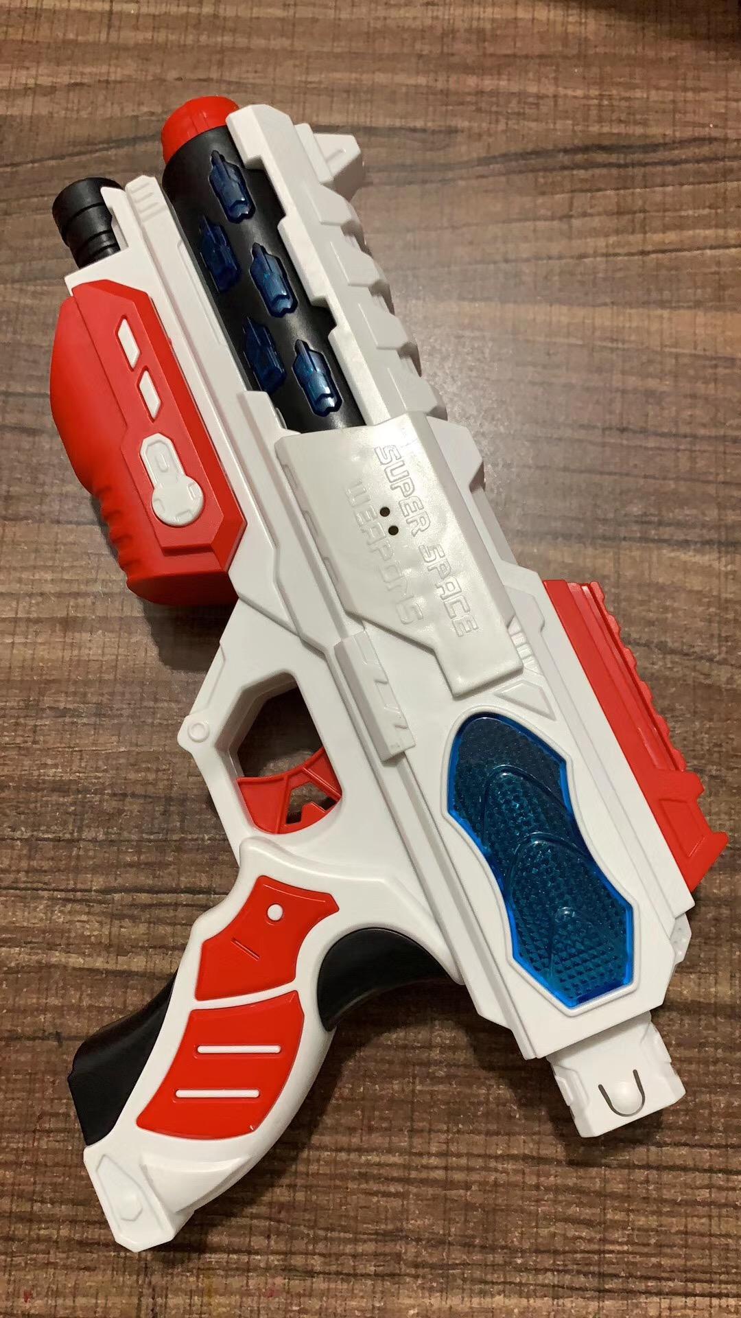 摆地摊儿童玩具 太空战警八音枪货源批发