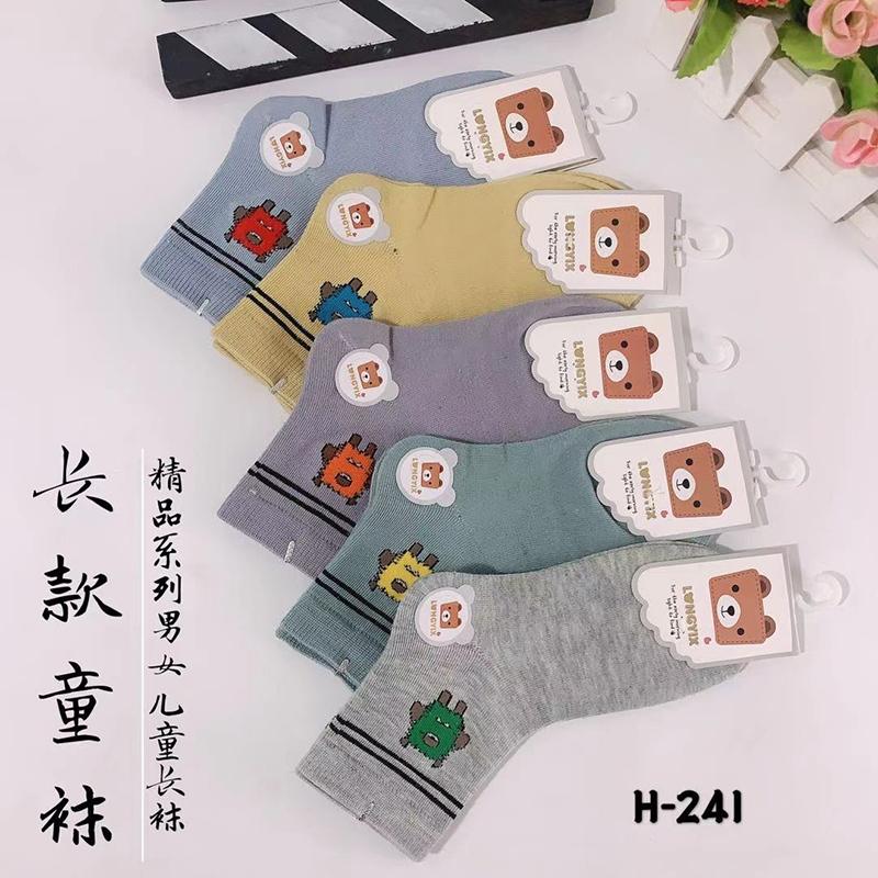 地摊10元3双4双袜子儿童款